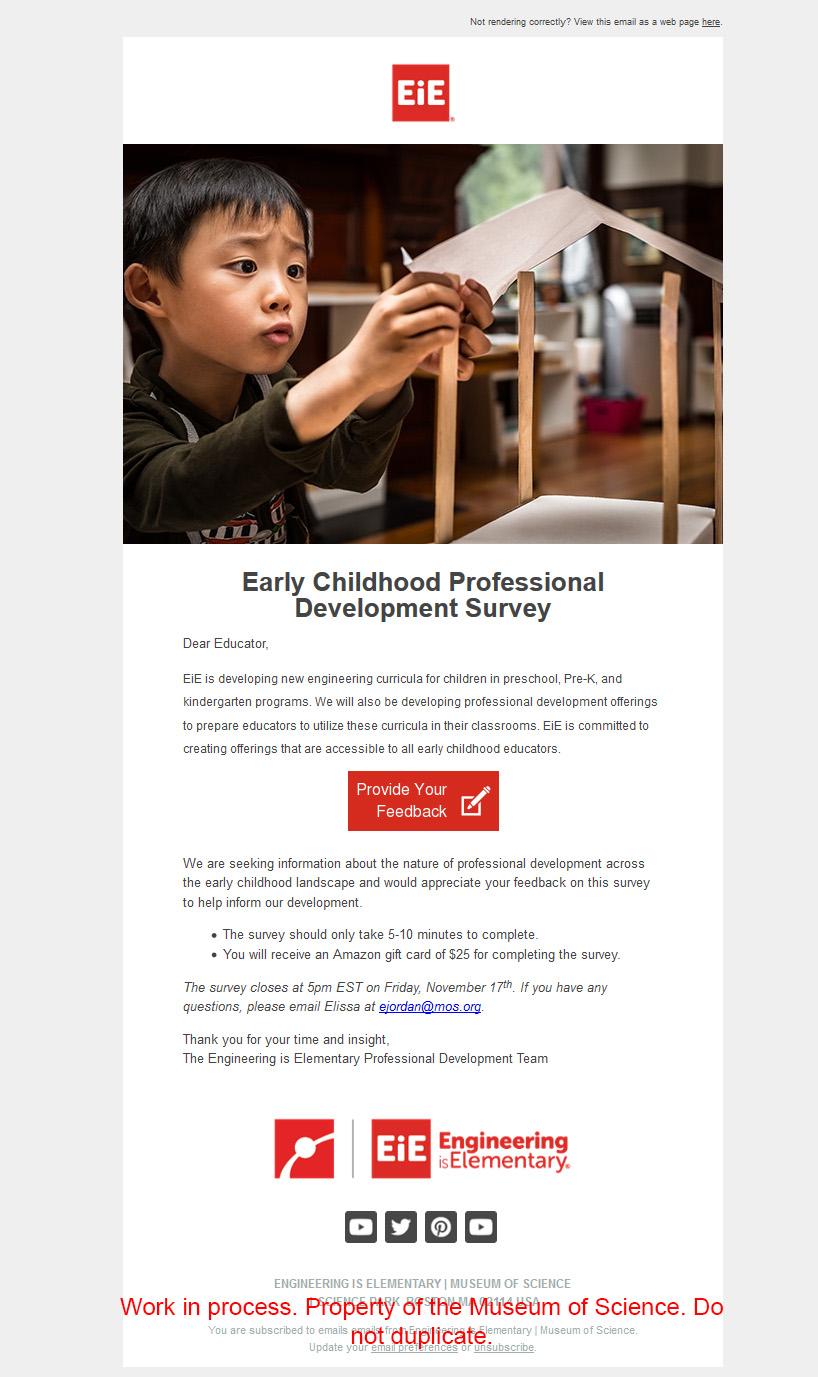 Email design (desktop)