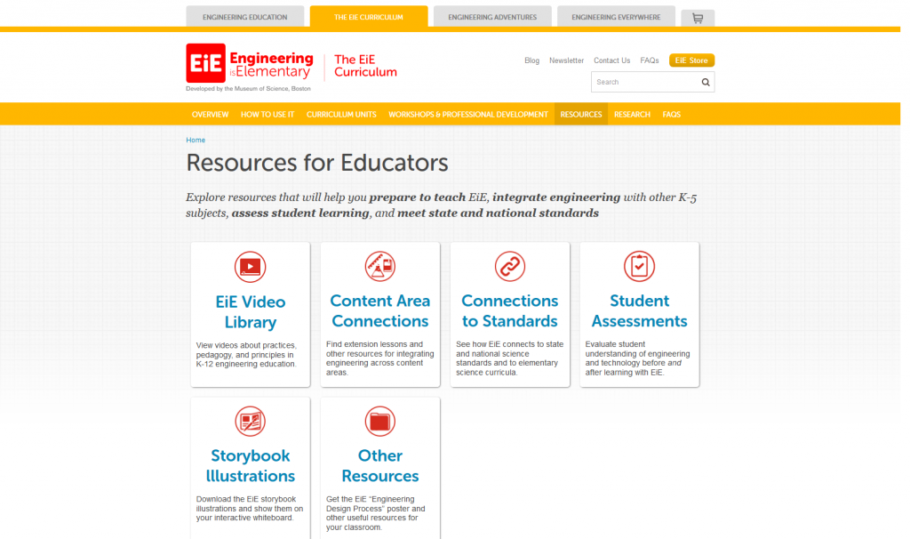 EiE.org resource cards