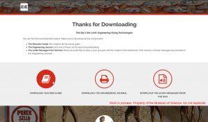 Responsive landing page (desktop)